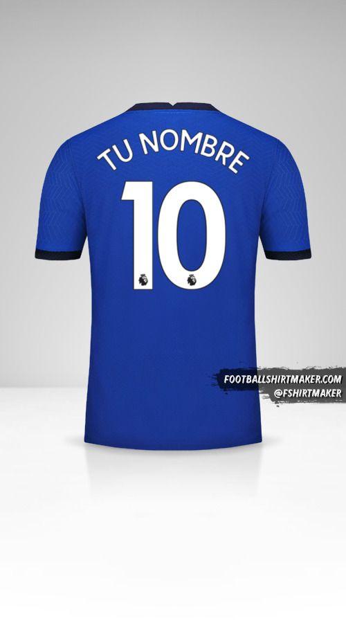 Camiseta Chelsea 2020/21 número 10 tu nombre