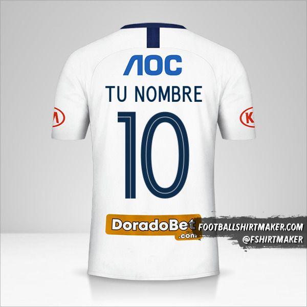 Camiseta Club Alianza Lima 2019 número 10 tu nombre