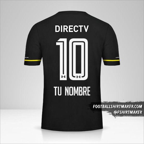Camiseta Colo Colo 2016 II número 10 tu nombre