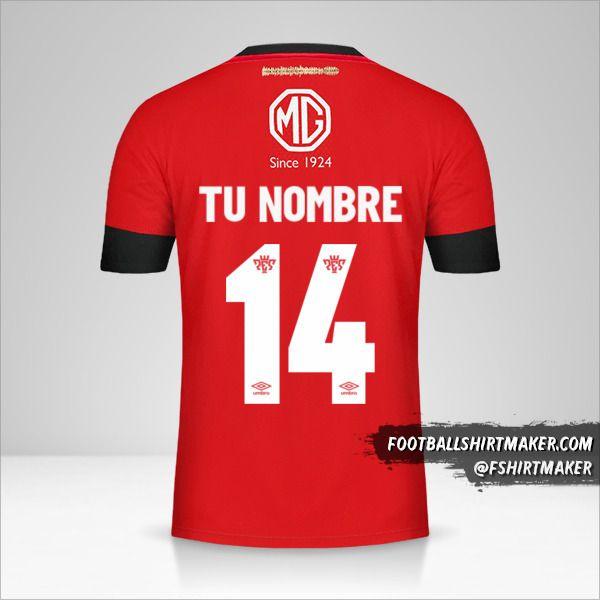 Camiseta Colo Colo 2019/20 III número 14 tu nombre