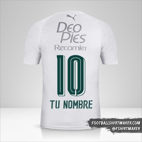 Camiseta Deportivo Cali 2018 II número 10 tu nombre