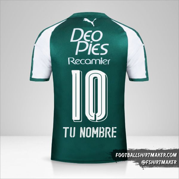 Camiseta Deportivo Cali 2018 número 10 tu nombre