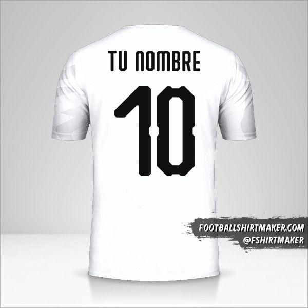 Camiseta Egipto 2019 II número 10 tu nombre