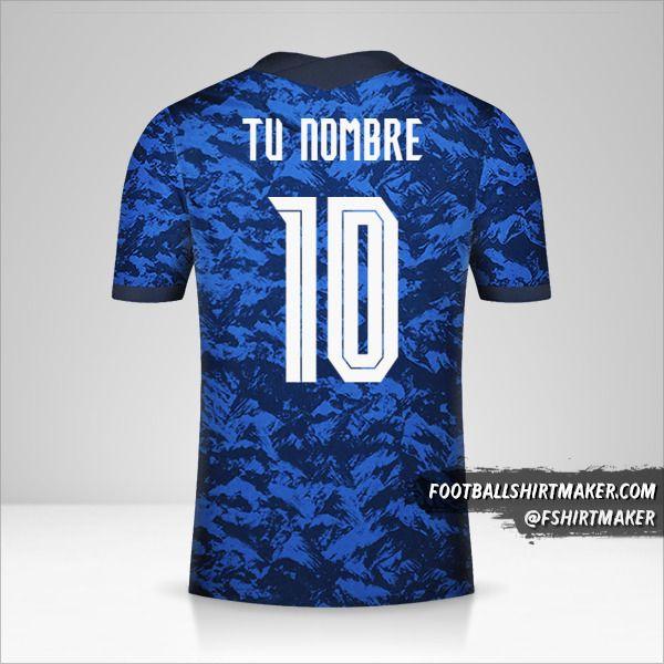 Camiseta Eslovaquia 2020/2021 número 10 tu nombre