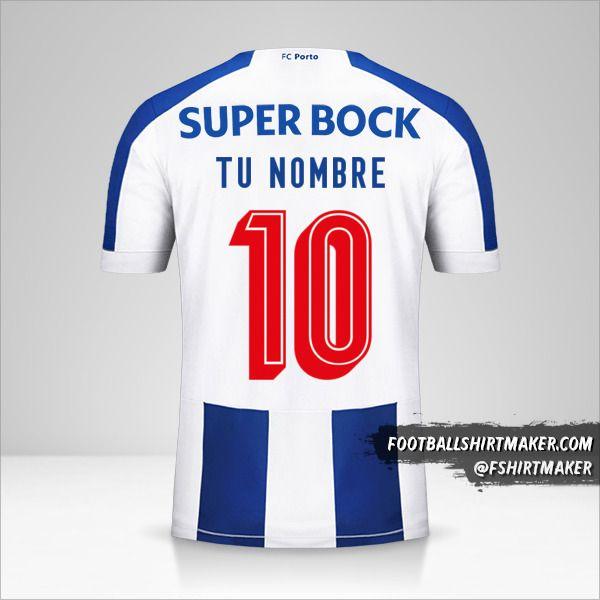 Camiseta FC Porto 2019/20 Cup número 10 tu nombre