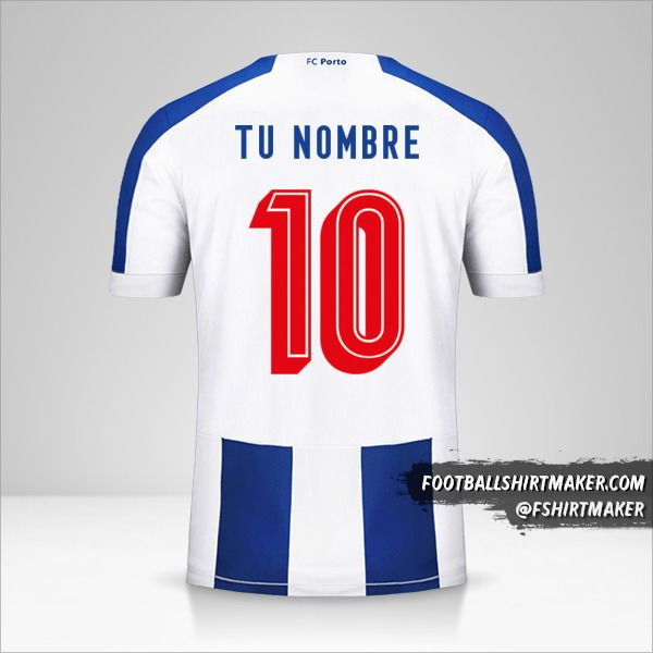 Camiseta FC Porto 2019/20 UCL número 10 tu nombre