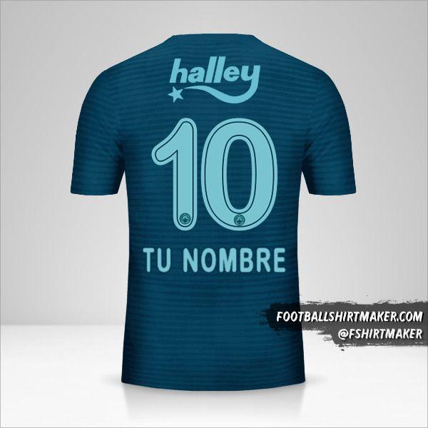 Camiseta Fenerbahçe SK 2018/19 III número 10 tu nombre