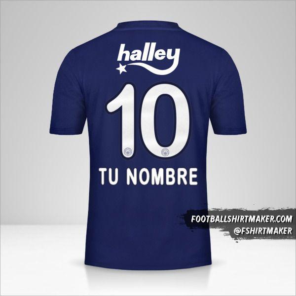 Camiseta Fenerbahçe SK 2019/20 número 10 tu nombre