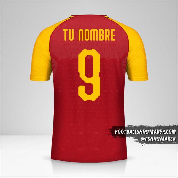 Camiseta Ghana 2018/19 número 9 tu nombre