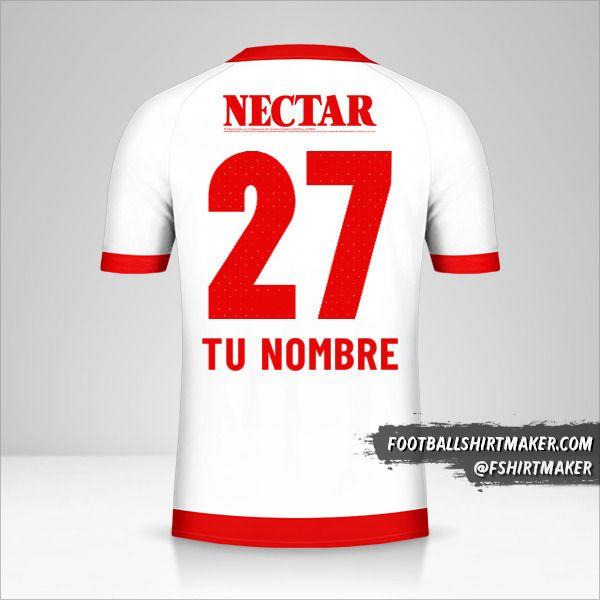 Camiseta Independiente Santa Fe 2019 II número 27 tu nombre