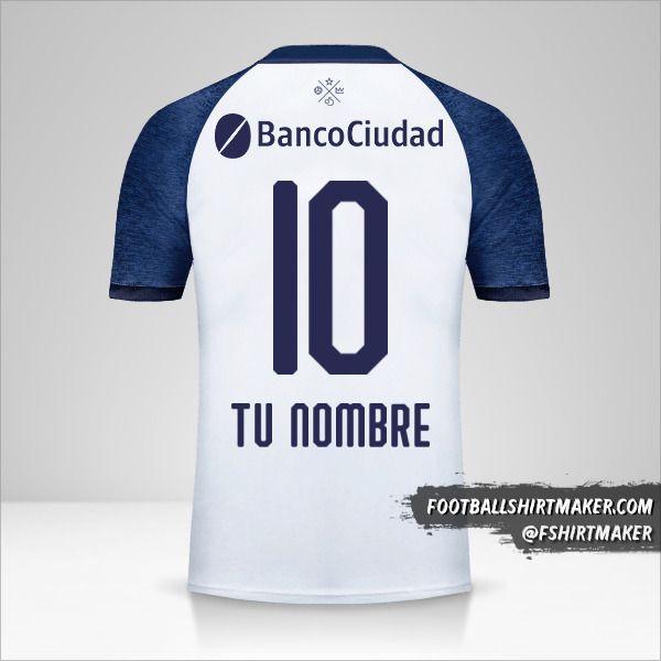 Camiseta Independiente 2018/19 II número 10 tu nombre