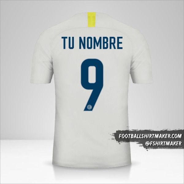 Camiseta Inter 2018/19 III número 9 tu nombre