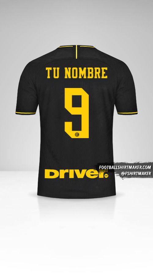 Camiseta Inter 2019/20 III número 9 tu nombre