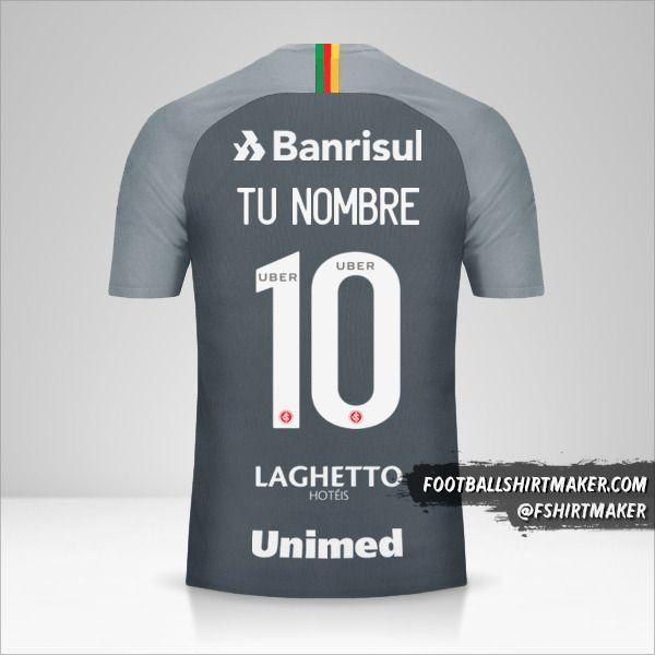 Camiseta Internacional 2018/19 III número 10 tu nombre