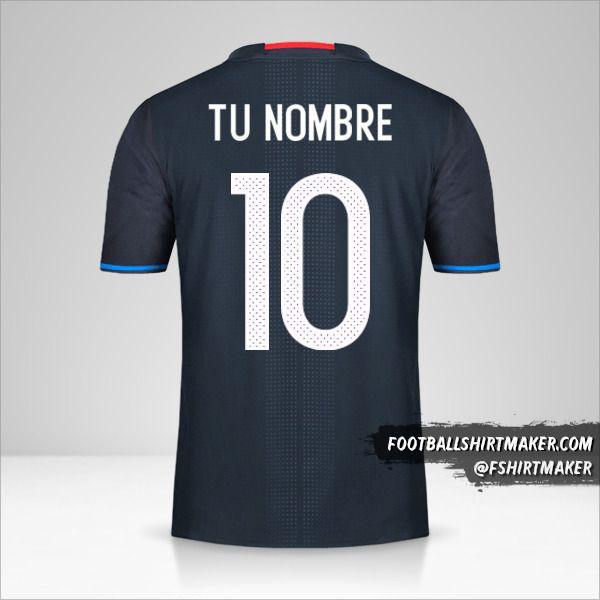 Camiseta Japon 2016 número 10 tu nombre