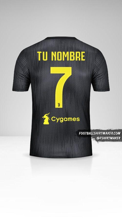 Camiseta Juventus FC 2018/19 III número 7 tu nombre