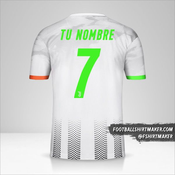 Camiseta Juventus FC 2019/20 Palace número 7 tu nombre