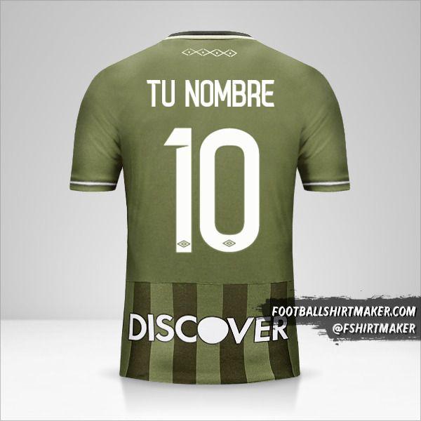 Camiseta Liga de Quito 2017 II número 10 tu nombre