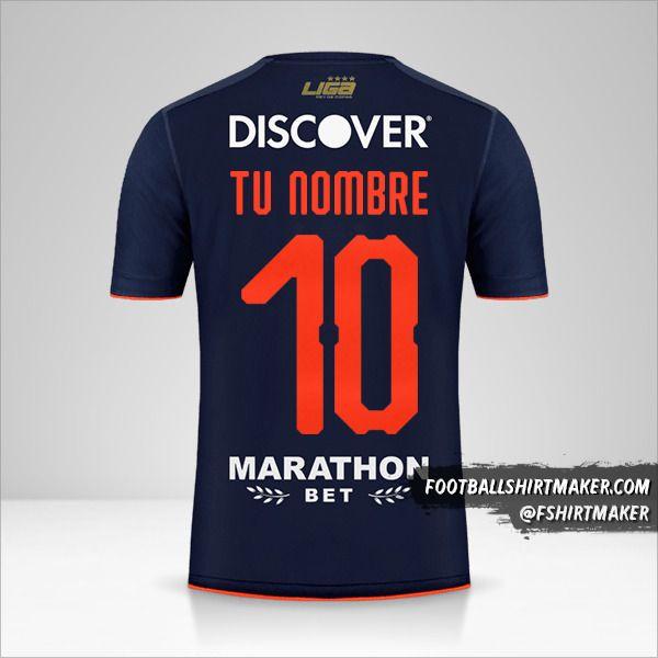 Camiseta Liga de Quito 2019 Copa número 10 tu nombre