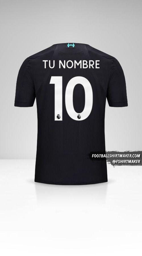 Camiseta Liverpool FC 2019/20 III número 10 tu nombre