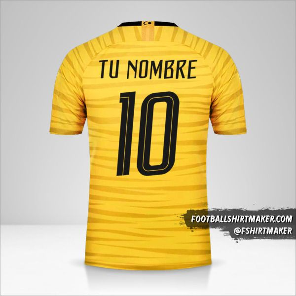 Camiseta Malasia 2018 número 10 tu nombre