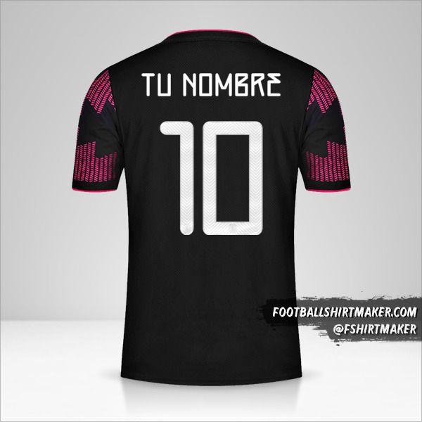 Camiseta Mexico 2021 número 10 tu nombre