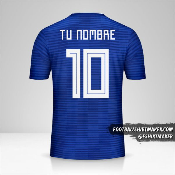 Camiseta Paraguay Copa América 2019 II número 10 tu nombre