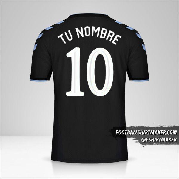 Camiseta Rangers FC 2019/20 Cup II número 10 tu nombre