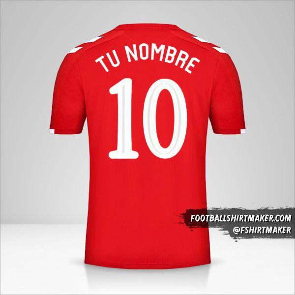Camiseta Rangers FC 2019/20 Cup III número 10 tu nombre