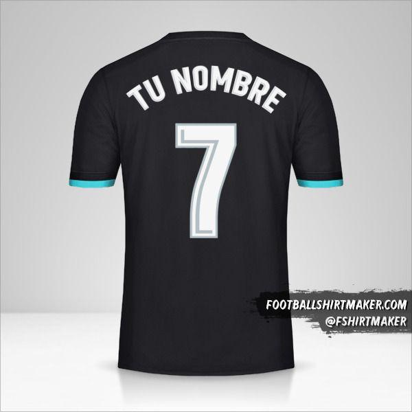 Camiseta Real Madrid CF 2017/18 II número 7 tu nombre
