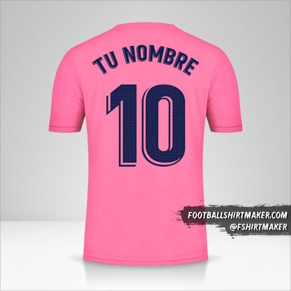 Camiseta Real Madrid CF 2020/21 II número 10 tu nombre