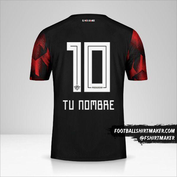 Camiseta River Plate 2019 III número 10 tu nombre