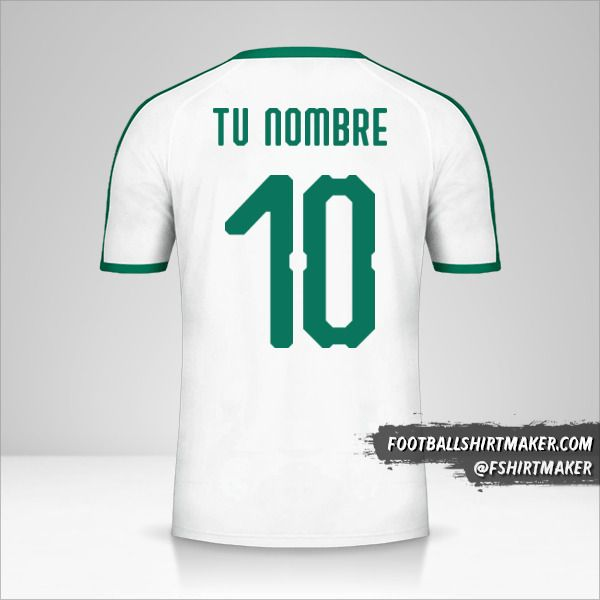 Camiseta Senegal 2018 número 10 tu nombre
