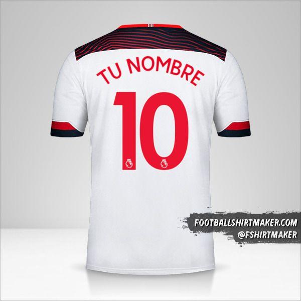 Camiseta Southampton FC 2019/20 III número 10 tu nombre