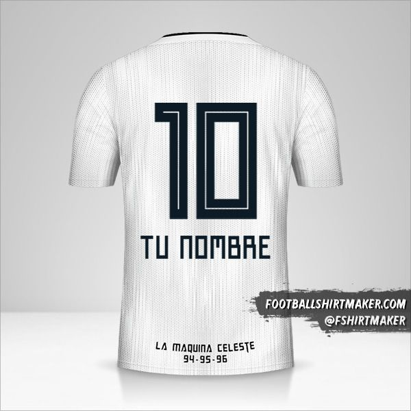 Camiseta Sporting Cristal 2019 II número 10 tu nombre