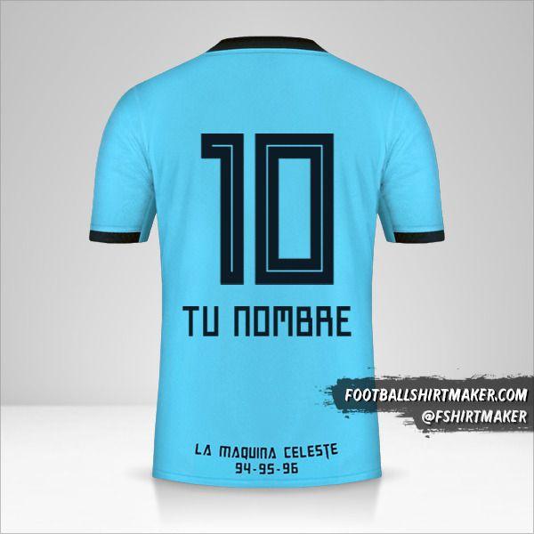Camiseta Sporting Cristal 2019 número 10 tu nombre