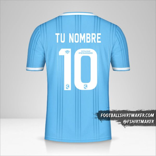 Camiseta Sporting Cristal 2020 número 10 tu nombre