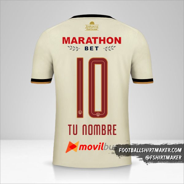 Camiseta Universitario 2019 número 10 tu nombre