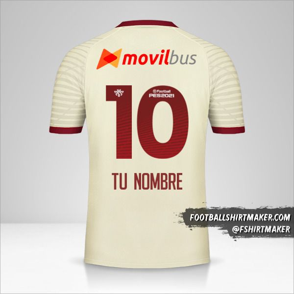 Camiseta Universitario 2020 número 10 tu nombre