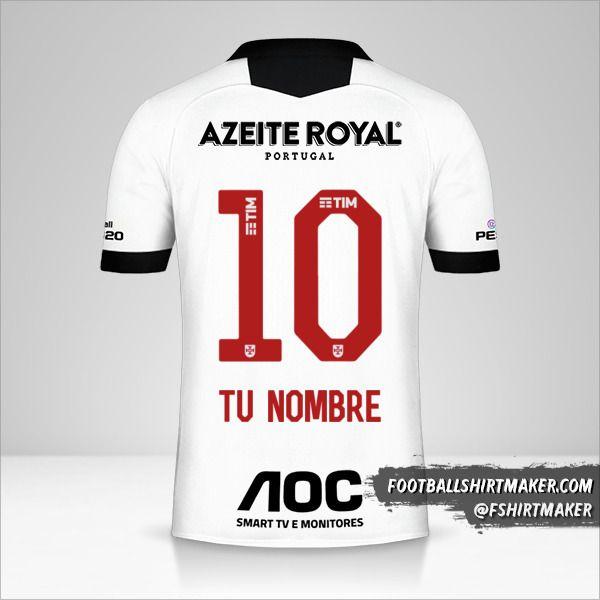 Camiseta Vasco da Gama 2019/20 III número 10 tu nombre