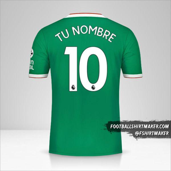 Camiseta Wolverhampton Wanderers 2019/20 III número 10 tu nombre