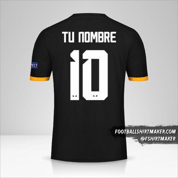 Camiseta Wolverhampton Wanderers 2019/20 Cup II número 10 tu nombre