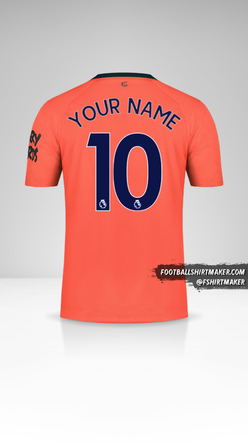 Everton Fc 2019 20 Ii Shirt Your Name Number 10